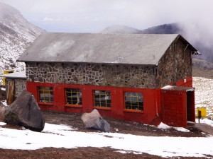 The Piedra Grande Hut.  Es Muy Grande!  Photo: Zeb Blais.
