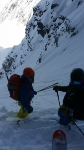 Rogers Pass. Ready to rip the Forever Young Couloir.